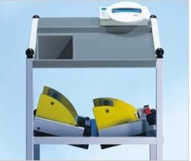 트롤리형 디지털 침대 저울